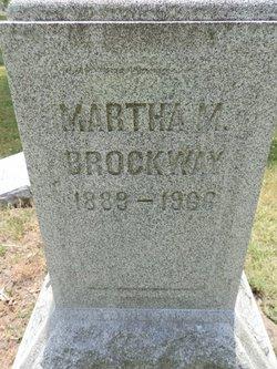 Martha Mae <I>Mateer</I> Brockway