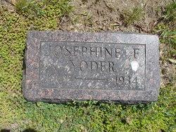 Josephine E Yoder