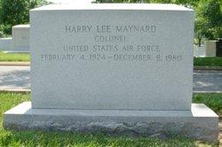 Col Harry Lee Maynard