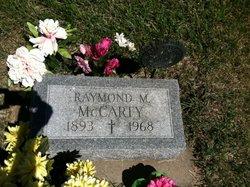 Raymond M McCarty