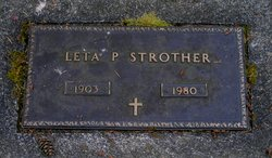Leta Pearl <I>Hayes</I> Strother