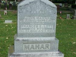 Frances E. <I>Lott</I> Mahar