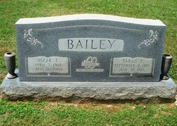 Sarah Frances <I>Sloan</I> Bailey