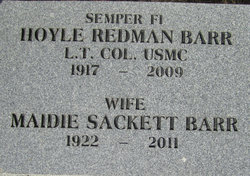 Maidie Louise <I>Sackett</I> Barr