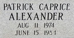 Patrick Caprice Alexander