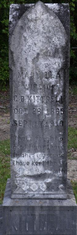 Mary Ula <I>Reed</I> Kittrell