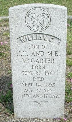 William E. McCarter