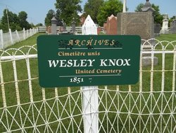 Wesley-Knox United Church Cemetery