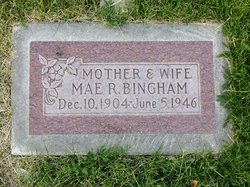 Mae Rosalind <I>Topping</I> Bingham