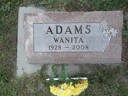 Wanita Mae <I>Schultz</I> Adams