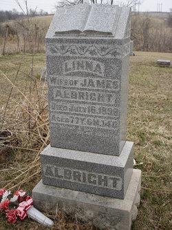 "Linna Jane ""Linnie"" <I>Lantz</I> Albright"