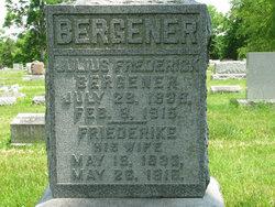 Julius Frederick Bergener
