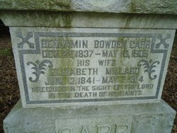 Benjamin Bowden Carr