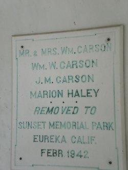 William Wilson Carson