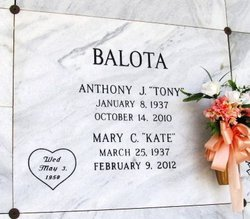 "Mary Catherine ""Kate"" <I>Chiaurro</I> Balota"