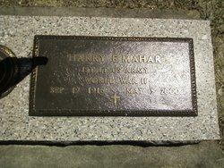 Harry E Mahar
