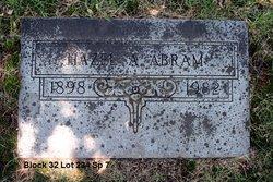Hazel A. <I>Hout</I> Abram
