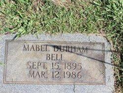 Mabel <I>Durham</I> Bell