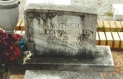 Alice Catherine <I>Prince</I> Allen