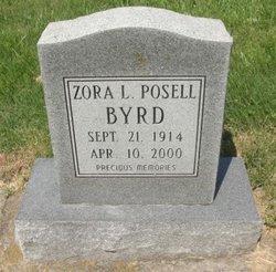 Zora Loarene <I>Posell</I> Byrd