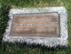 Marjorie <I>Done</I> Bringhurst