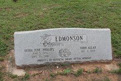 Ouida June <I>Phillips</I> Edmonson