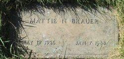 Mattie Nell <I>Stockton</I> Brauer