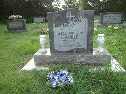 Odell <I>Johnson</I> Gamble