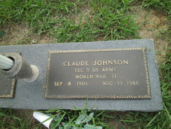 Claude Johnson