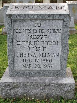"Cherna ""Clara"" <I>Loewenstein</I> Kelman"
