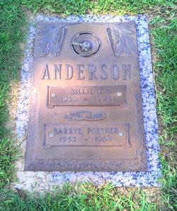 Billie Jo <I>Oefinger</I> Anderson