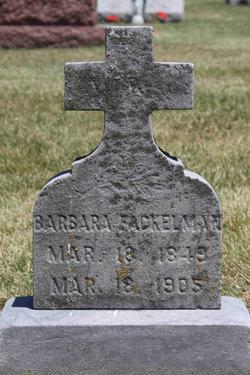 Barbara Ann <I>Pitzen</I> Fackelman