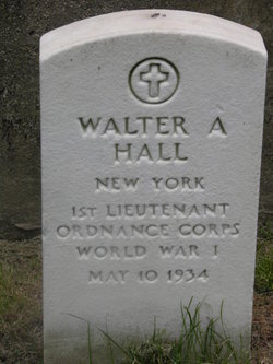 Walter A Hall