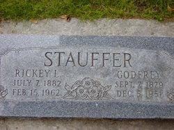 "Fredericka Pauline ""Rickey"" <I>Leonhardt</I> Stauffer"