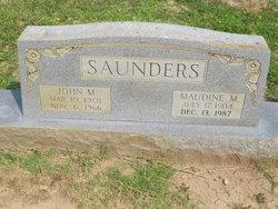 Maudene M Saunders