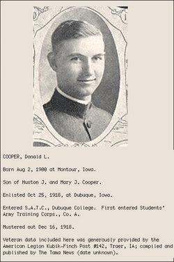 Donald Leo Cooper