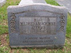 "Mildred ""Millie"" <I>Abercrombie</I> Auxford"