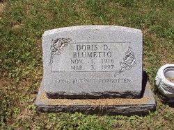 Doris D <I>Gump</I> Blumetto