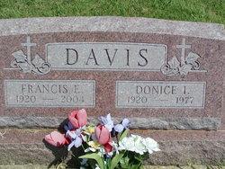 Donice I <I>Marney</I> Davis