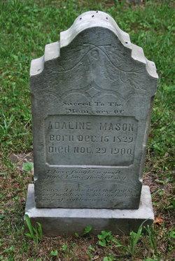 Adaline <I>Virts</I> Mason