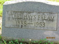 Ethel <I>Hays</I> Fream