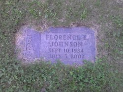 Florence E <I>Holten</I> Johnson