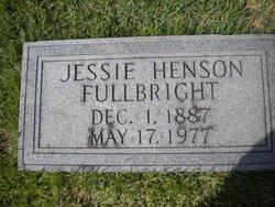 Jessie <I>Henson</I> Fullbright