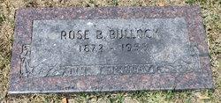 "Rosa Bell ""Rosie"" <I>Biddle</I> Bullock"