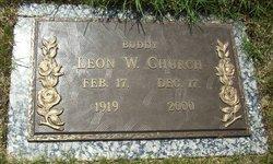 """Leon Woodson """"Buddy"""" Church"""