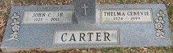 Thelma Genevie <I>May</I> Carter
