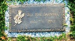 Ora Mae <I>Cone</I> Barnhill