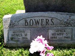 Agnes M. <I>Hetz</I> Bowers
