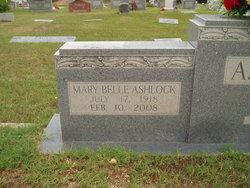 Mary Belle Ashlock <I>Ashcraft</I> Anderson