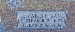 Elizabeth Jane Gordon